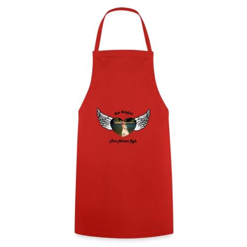 An Angel bunt - Kochschürze