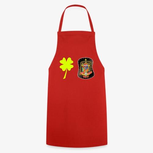 Escudo de España negro / Trébol de la fortuna - Delantal de cocina