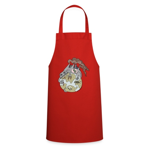 Consuming Ourselves to Death - Cooking Apron