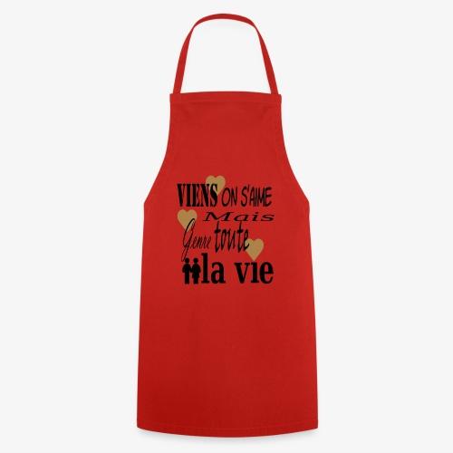 Viens on s'aime2 - Tablier de cuisine