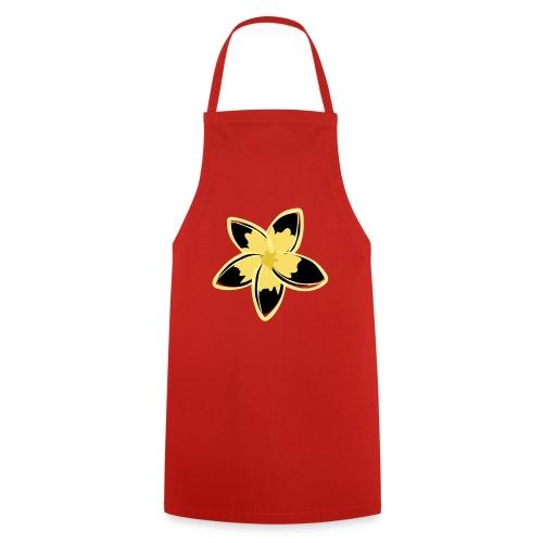 Blusas, Accesorios y mas, Flor Amarillo y negro - Delantal de cocina
