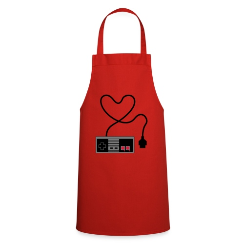 NES Controller Heart - Cooking Apron