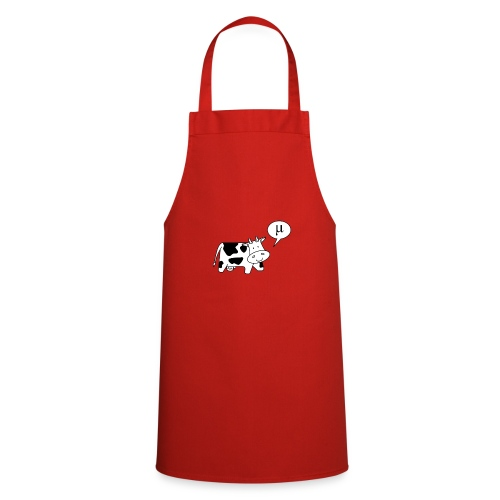 The Cow says Mu - Cooking Apron