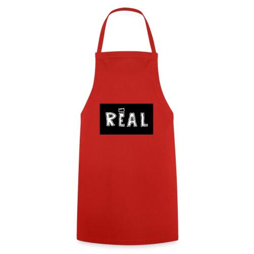 REAL (Black & White) - Keukenschort