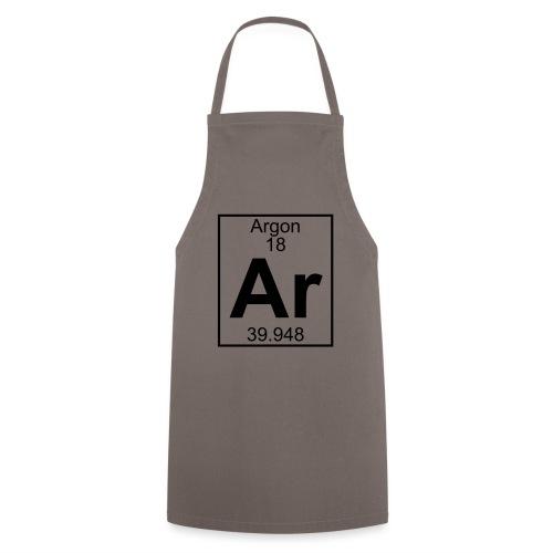 Argon (Ar) (element 18) - Cooking Apron
