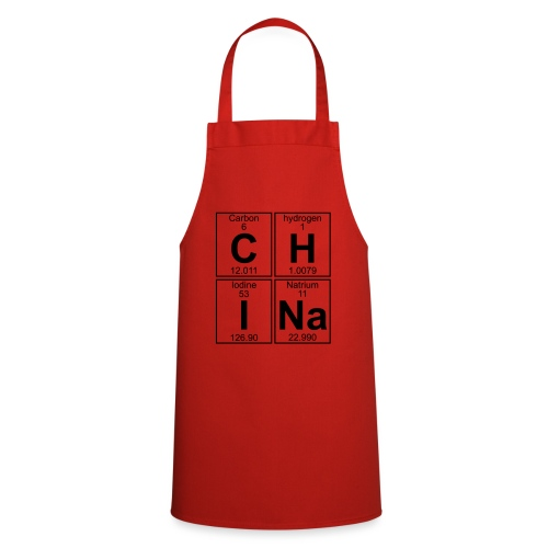 C-H-I-Na (china) - Full - Cooking Apron