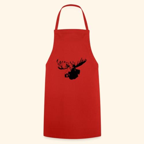 elch - elk - moose - jagd - jäger - Kochschürze