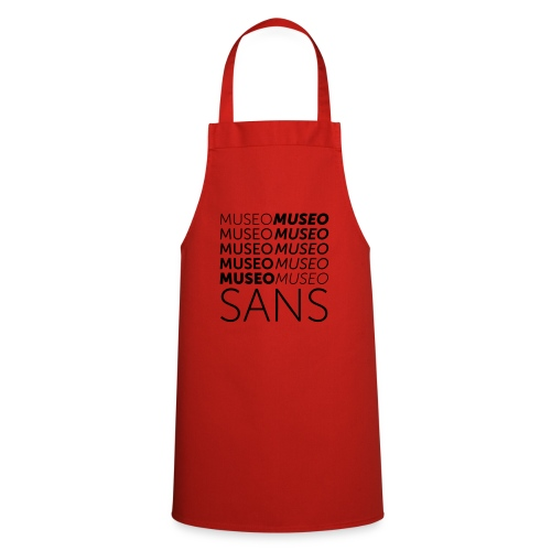 museo sans - Cooking Apron
