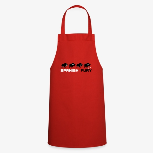 Furia espan ola y toros - Delantal de cocina