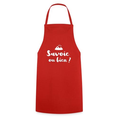 Savoie ou bien - Tablier de cuisine