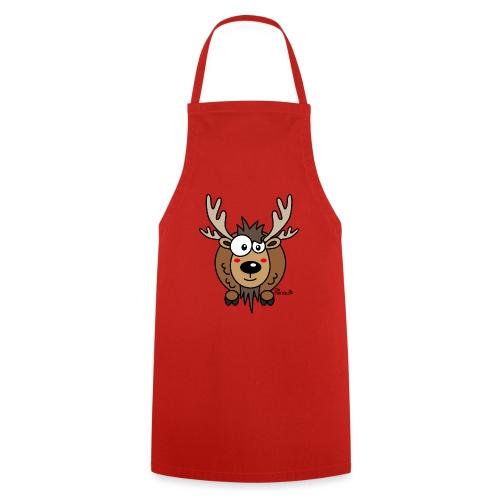 Renne Joyeux Noël Happy Christmas Hiver Drôle - Tablier de cuisine