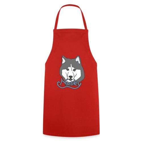 Husky Hund Dog Schlittenhund Geschenk - Kochschürze