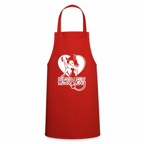 Horny Hens Heart - Cooking Apron
