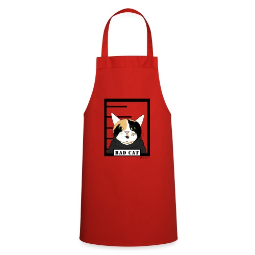 Bad cat - Cooking Apron