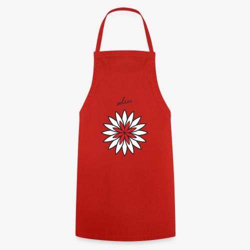 SOLRAC Central Red - Delantal de cocina
