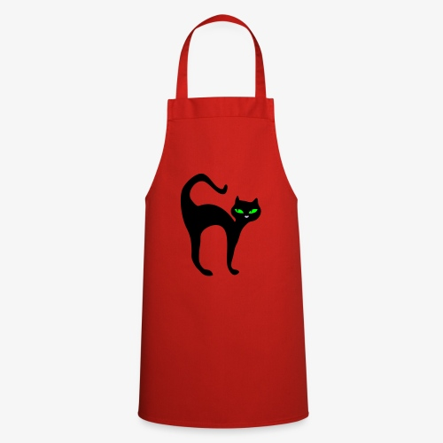 Noughty cat - Cooking Apron