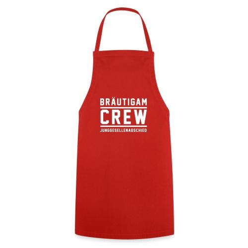 Bräutigam Crew Junggesellenabschied - Kochschürze