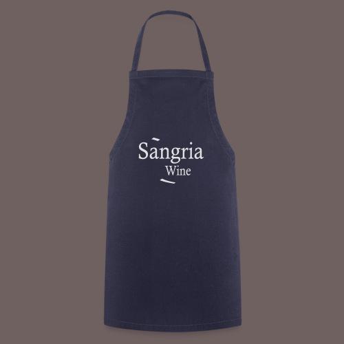 GBIGBO zjebeezjeboo - Fleur- Vin de Sangria [Flex] - Tablier de cuisine