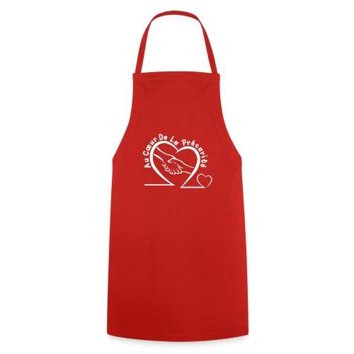 logo acdlp vetement blanc petit - Tablier de cuisine