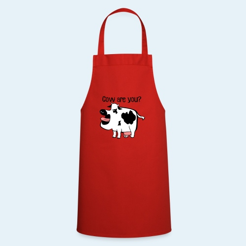 Cow are you? - Delantal de cocina