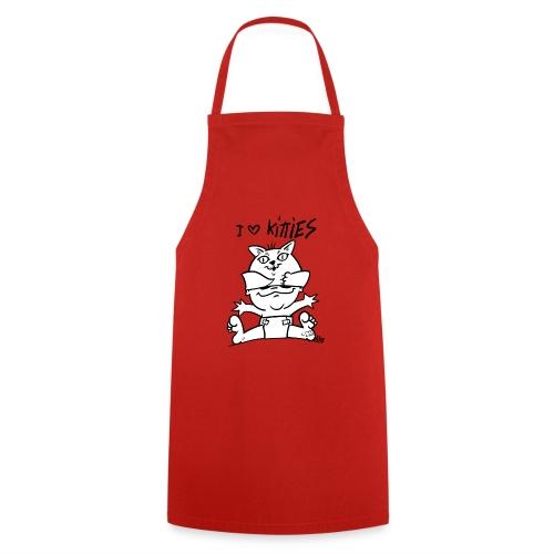 baby i love kitties - Keukenschort