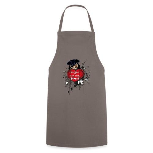 love your pirate - Grembiule da cucina