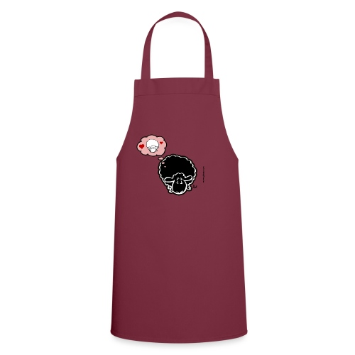 Thinking of Ewe (black) - Cooking Apron