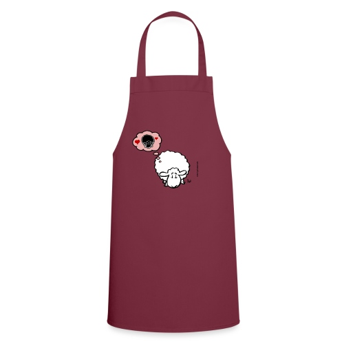 Thinking of Ewe (white) - Cooking Apron