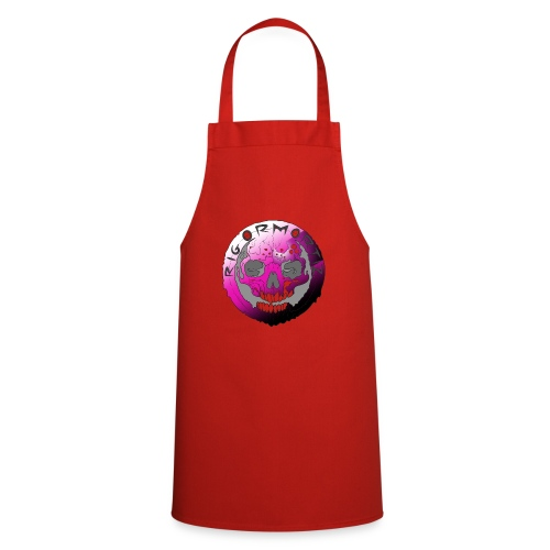 Rigormortiz Purple Design - Cooking Apron