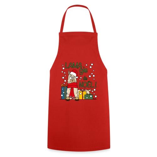 Lama, Magie de Noël, Happy Christmas, Pull moche - Tablier de cuisine