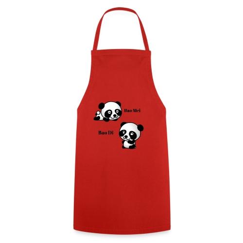 Bao Di Bao mei les petits pandas - Tablier de cuisine