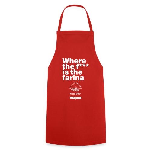 WeRoad Where the f*** is the farina rosso - Grembiule da cucina