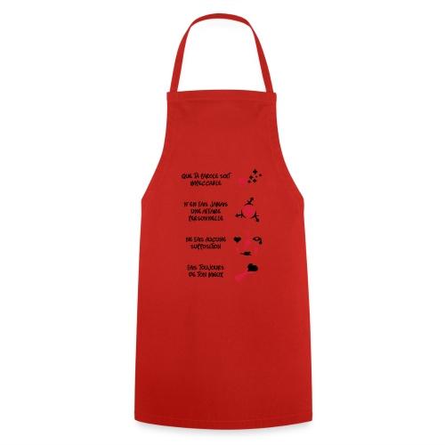4 toltèques - Tablier de cuisine