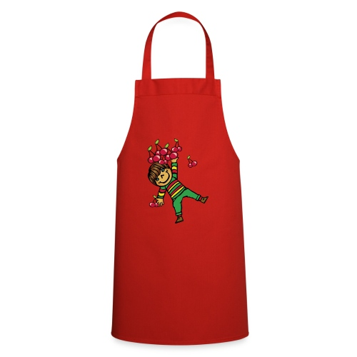 08 kinder kapuzenpullover hinten - Kochschürze