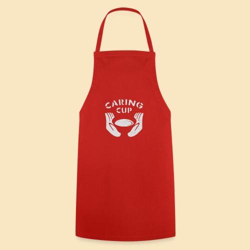 Caring Cup hellgrau - Kochschürze
