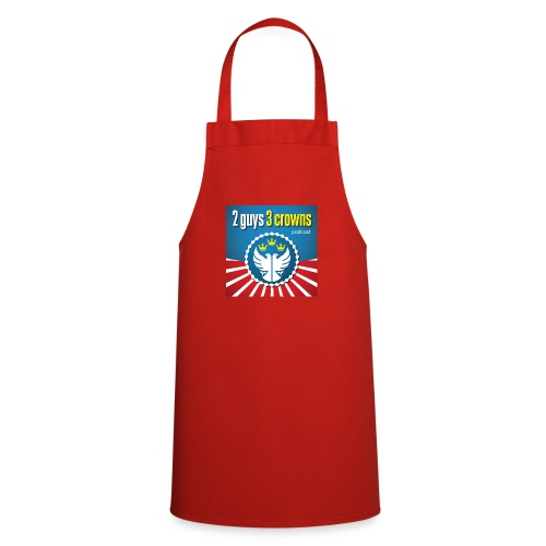 Official 2 Guys 3 Crowns Logo - Cooking Apron