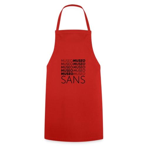 museo sans - Cooking Apron
