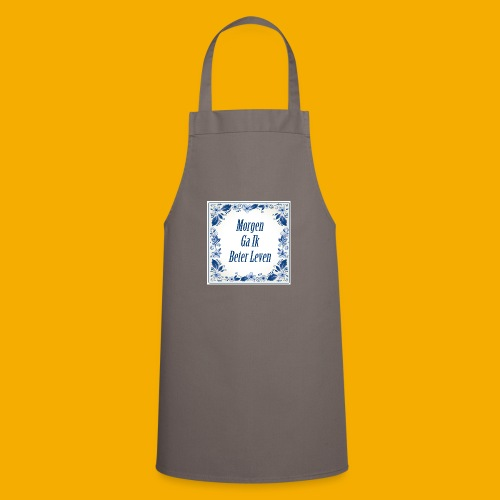 delft blauw - Keukenschort