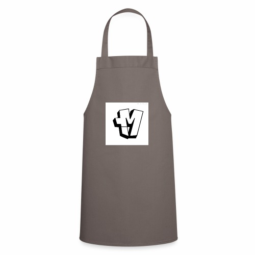 graffiti alphabet m - Cooking Apron