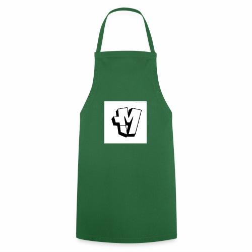 graffiti alphabet m - Cooking Apron