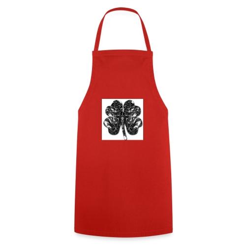 Czterolistna konczynka - Fartuch kuchenny
