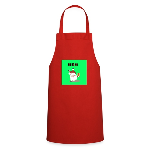 acrobatic santa - Cooking Apron