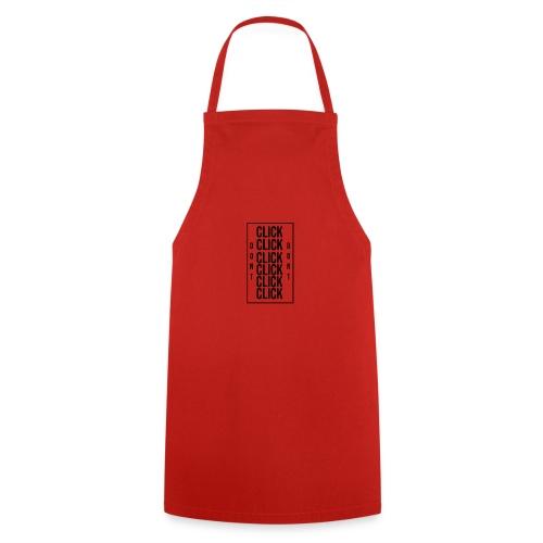 dont click here - Delantal de cocina