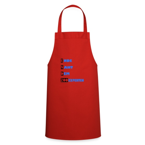 Endzoo Ende helles Shirt - Kochschürze