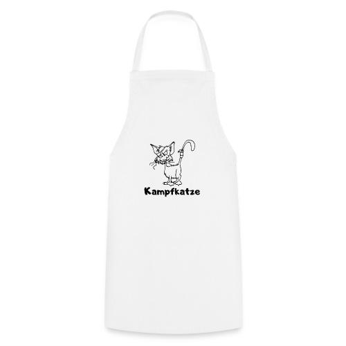 Kampfkatze - Kochschürze