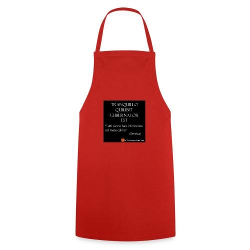 Citazione Seneca timoniere - Grembiule da cucina