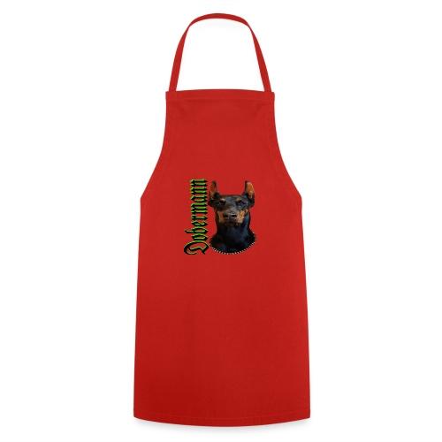 Dobermann Hundekopf Hundesport Hundeliebhaber Hund - Kochschürze