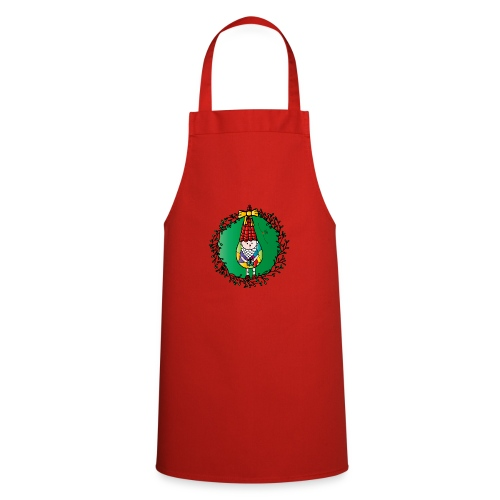 Weihnachtswichtel - Kochschürze