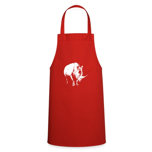 White Rhinoceros (highlights only) - Cooking Apron