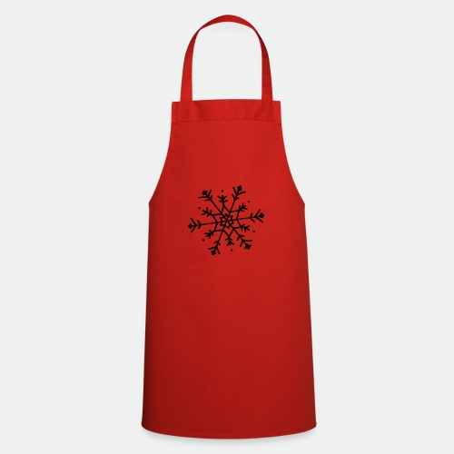 Cute snowflake - Cooking Apron